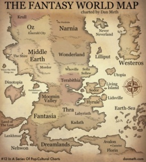 fantasy world map
